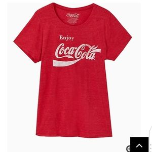 🆕COCA-COLA RED TRIBLEND CREW TEE